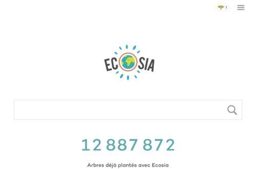 Article : Ecosia ou comment planter des arbres à l'aide d'un moteur de recherche