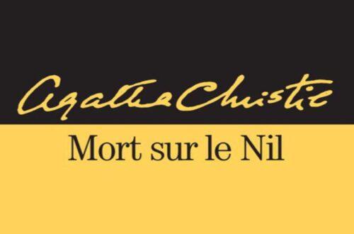Article : Mort sur le Nil d'Agatha Christie