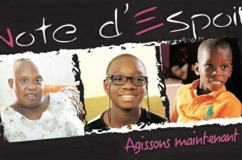 Article : «Note d'Espoir», un beau regard sur les enfants handicapés de Côte d'Ivoire