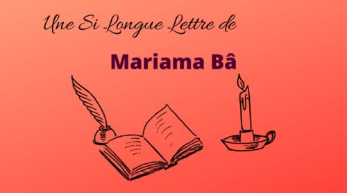 Une si longue lettre de Mariama Bâ