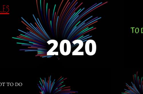 Article : Quelques petits conseils pour l'année 2020