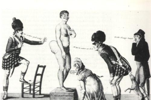 Article : Saartje Baartman, la Vénus Hottentote, une vie de bête de foire