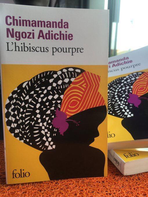 Livres de Chimamanda Ngozi, L'Hibiscus Pourpre. Editions Folio.