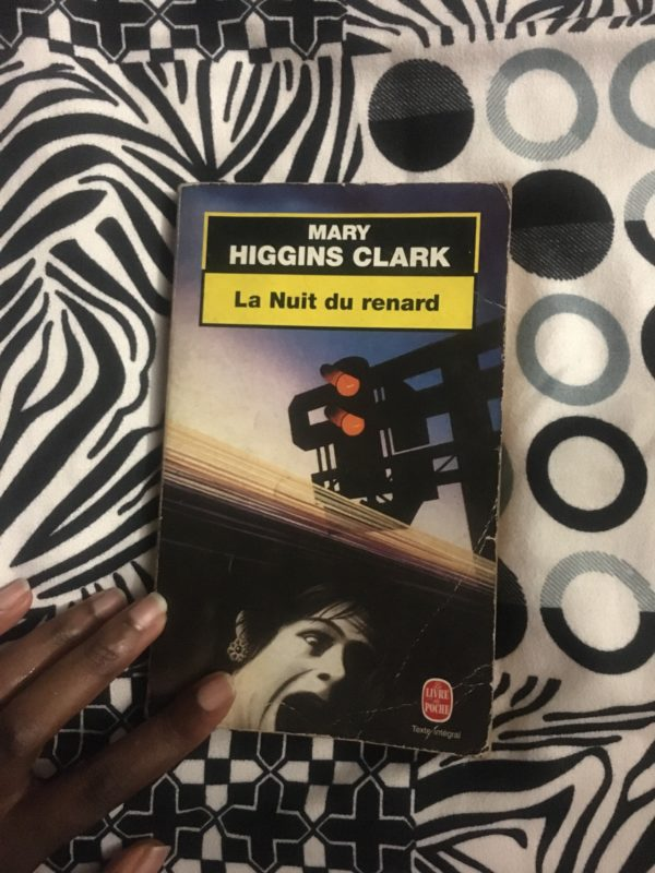 La nuit du renard de Mary Higgins Clark, second livre de ma liste de lectures