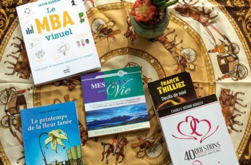 Article : Mes lectures de juin et mon livre coup de coeur