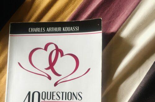 Article : 40 questions essentielles avant de dire OUI ( au mariage) de Charles Arthur