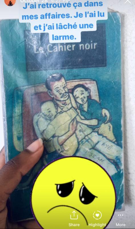 Le cahier noir , de Camara Nangala