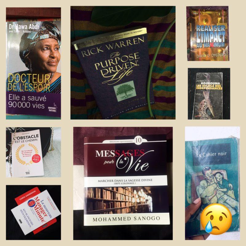 Mes 8 lectures d'octobre