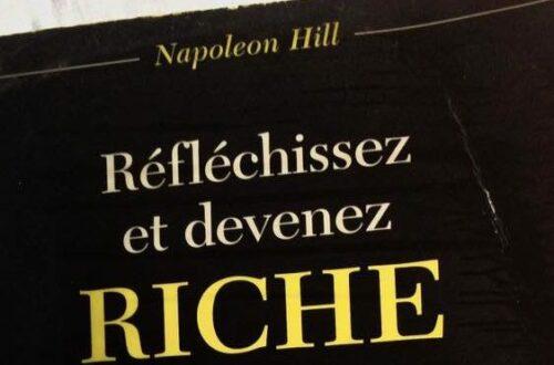 Article : Conseil lecture : Réfléchissez et devenez riche, de Napoleon Hill